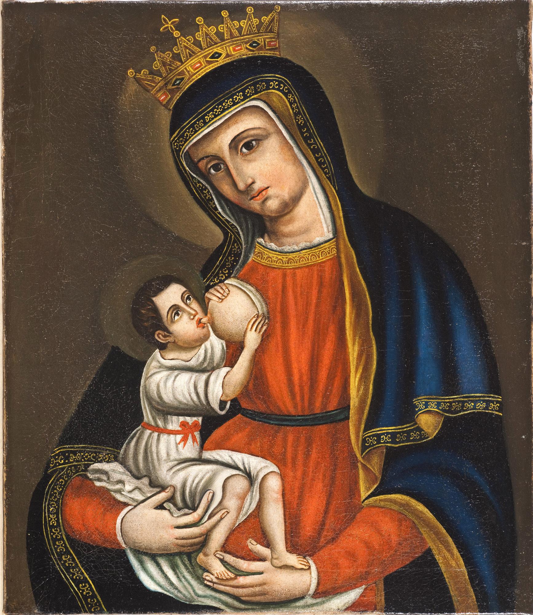 Favoloso Il quadro della Madonna del Pilerio - Museo Diocesano di Cosenza LZ68